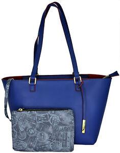 Shoulder Bag Woman Blue Alv By Alviero Martini