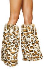 Legwarmers Animal Print Legwarmers Leopard Leg Warmers Roma 4890 Rave Warmers