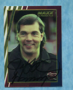 SIGNED 1994 Maxx Premier Plus #125 Jeff Hammond - Autographed Card NASCAR Auto