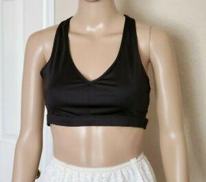 Victoria's Secret Victoria Sports unlined wireless black bra Size L