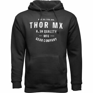 Thor Crafted Mens Pullover Hoody Black