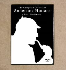 Sherlock Holmes - Basil Rathbone - The Complete Collection - All 14 Movies B&W