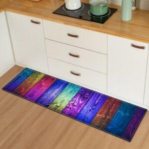 Kitchen Mat Floor Bedroom Living Room Carpet Bathroom Non-slip Absorbent Rug