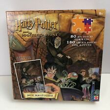Harry Potter & The Sorcerers Stone 260 Piece Family Puzzle w/Magic Decoder 2000