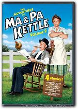 Ma & Pa Kettle At The Far, On Vacation, At Home, At Waidiki DVD New
