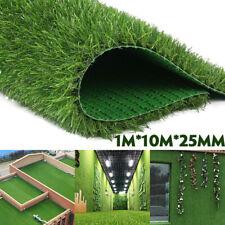 33x3.3ft Artificial Grass Carpet Fake Synthetic Garden Landscape Lawn Mat Turf