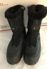 Womens 7M  Merrell Whiteout Mid Waterproof Black Winter Boots Insulated 400g
