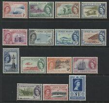 Cayman Island QEII 1953 complete set mint o.g.