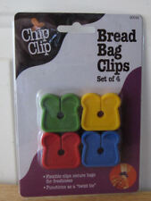 Chip Clip Bread Bag Clips Set of 4 - New in Package!