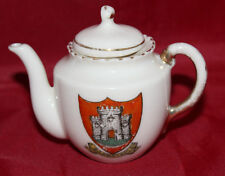 Crested Ware China - Miniature Tea Pot - Barnstaple