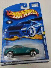 HOT WHEELS 1/64 Diecast Green Mercedes SLK Car #120 Saw 3 rzr