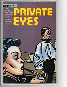 Private Eyes #5 // The Saint Leslie Charteris John Spranger // Eternity Comics