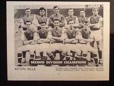 Aston Villa Surname Initial A Football Prints