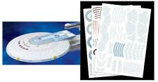 Polar Lights 1/1000 Star Trek USS Excelsior Aztec Decal Set for AMT PLLMKA17
