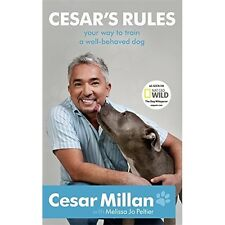 Cesars Rules Cesar Millan Dog Training Book Behaviour Obedience Commands Puppy