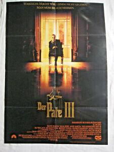 DER PATE 3 - Poster Plakat - Godfather Al Pacino Francis Coppola Diane Keaton