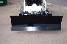 new heavy duty 78 inch six way dozer blade for skid steer fits bobcat 7-diamond