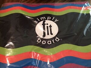 """NEW Simply Fit Board Workout Mat 25.5"""" x 18"""" As Seen on TV"""