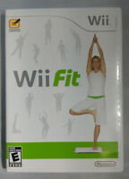 Wii Fit Original Nintendo Wii game 100% Authentic Tested Complete