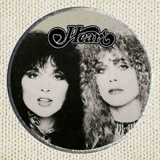 Heart Patch Picture Embroidered Border Rock Band Ann Wilson Nancy Lamoureaux