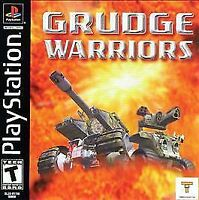 Grudge Warriors PLAYSTATION (PS1) Fighting (Video Game) a1