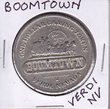 CASINO DOLLAR TOKEN CHIP COIN GAMBLING - BOOMTOWN VERDI, NEVADA