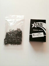 3 One pound boxes STAR BRAND size 2 1/2 oz ounce metal shoe repair TACKS