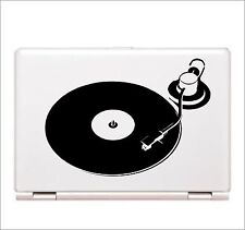 Turntable Decal laptop skin sticker dj rap Hip Hop Rap car window graphic