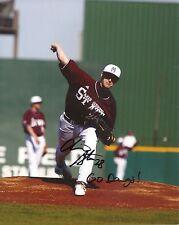 CHRIS STRATTON MISSISSIPPI STATE BASEBALL SIGNED 8X10 PHOTO W/COA MLB #1 PICK