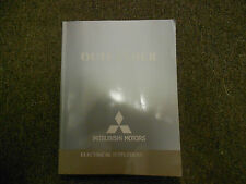 2004 MITSUBISHI Outlander Electrical Supplement Service Repair Shop Manual OEM