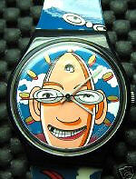Swatch Collector Club Special Looka Egghead 1996 GZ700