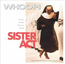 Sister Act by Marc Shaiman (CD, Jun-1992, Hollywood)