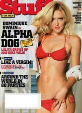 FHM Magazine STUFF FEBRUARY 2007 DOMINIQUE SWAIN Ali Larter Alpha Dog