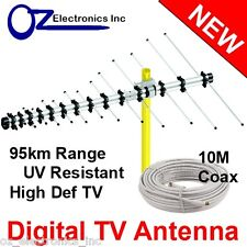 Greentek Outdoor TV Antenna UHF VHF FM 4 AUSTRALIAN conditions Country Areas NEW