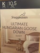 Snuggledown Hungarian Goose Down King Size Duvet 10.5 Tog (BNWT)