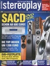 Stereopl.6/03 Dynaudio Contour S 3.4, Naim NAC 282+NAP 250, Marantz SR 9300,Lyra