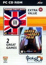 GTA Double Pack PC New and Sealed Grand Theft Auto and Grand Theft Auto London