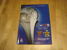 Blackpool Home Teams A-B Final Football Programmes