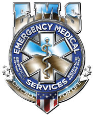 EMS On Call Metal Sign - Hand Made in USA with American Steel