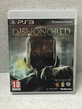 JEUX PS3 DISHONORED AVEC NOTICE PLAYSTATION