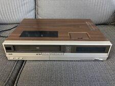 Vintage Curtis Mathis Front Load Vcr Vhs Recorder Mv740 *Tested Works No Remote