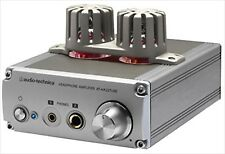 Audio-Technica headphone amplifier AT-HA22TUBE Hybrid system Line-through output