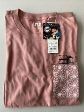 More details for uniqlo x demon slayer/kimetsu no yaiba pink nezuko t-shirt size m