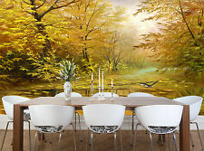 Beautiful Autumn Wall Mural Photo Wallpaper GIANT DECOR Paper Poster Free Paste