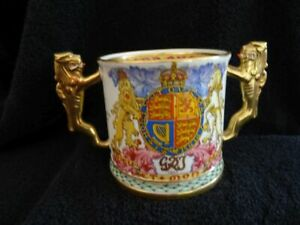 Lovely Paragon Perpetual Souvenir Ltd Ed. Loving Cup - Coronation Of George VI