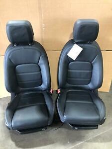 Jaguar XE Seats   Genuine Jaguar XE Interior Set Black Leather Interior Set
