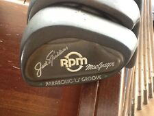MacGregor RH Jack Nicklaus RPM Parabolic Groove Irons Green Dots 3,4,5,6,7,8,9,P