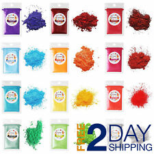 Mica Powder 12 Pk Sample Shimmer Pigment for Epoxy Resin Art, Soap, Making 5g