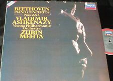 Beethoven Piano Concerto No. 3 Vladimir Ashkenazy Zubin Mehta LONDON DIGITAL LP