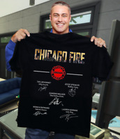 CHICAGO FIRE SIGNATURES SHIRT